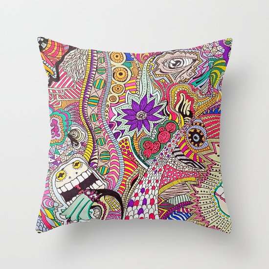 It's What's On The Inside That Counts. Throw Pillow