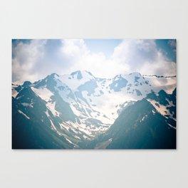 Summer Snow Canvas Print