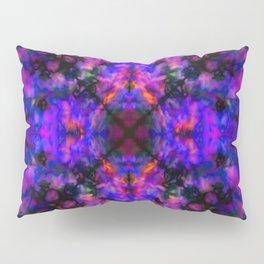 Dark blue kaleidoscope pattern Pillow Sham