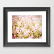 Summer Pink Framed Art Print