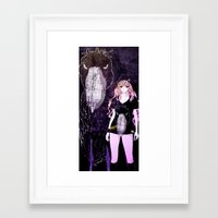 studio killers Framed Art Prints featuring PINKY & KILLERS by Chandelina