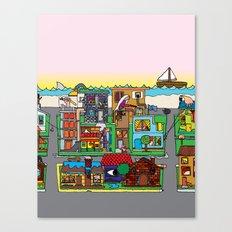 Good Magazine Neighborhoods Canvas Print