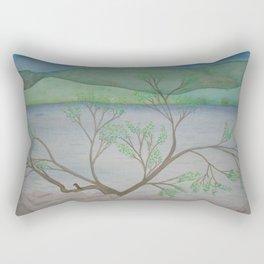 Banks of the Canal Rectangular Pillow