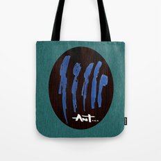 peoples are abstract  Tote Bag