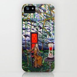 Waiting Death iPhone Case