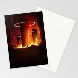 The Burning Light Stationery Cards
