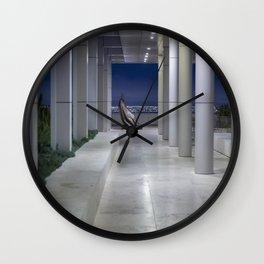 Cardinale Seduto at the Getty Wall Clock