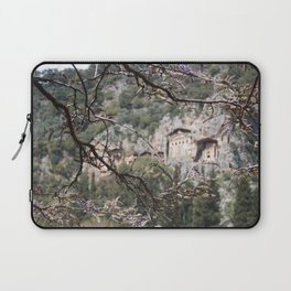Wisteria Buds Surrounding the Lycian Tombs Dalyan Laptop Sleeve