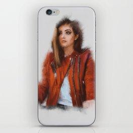 Women in Red iPhone Skin