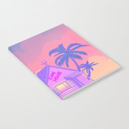 80s Kame House Notebook