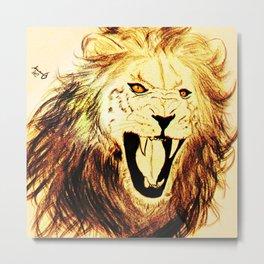 Panthero Leo Metal Print