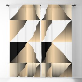 Gold Wrap Blackout Curtain