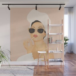 Morning Routine Wall Mural