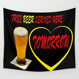 BEER FREE Wall Tapestry