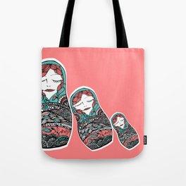Sleeping Matrioska Tote Bag