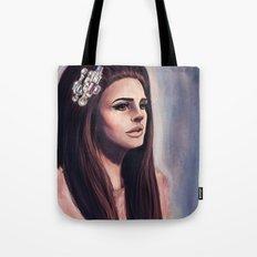 She Wore Blue Velvet Tote Bag
