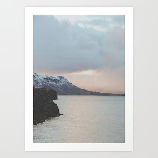 Western Region, Iceland Art Print