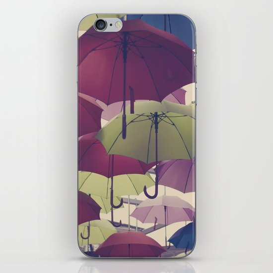Why does it always rain on me? iPhone & iPod Skin