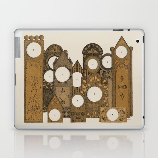 Points in time Laptop & iPad Skin