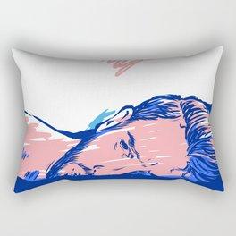 Waiting you! Rectangular Pillow