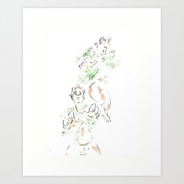 Wild Birds #2 Art Print
