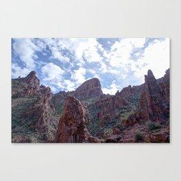 Flat Iron Peak Canvas Print