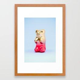 Haribo Goldbär Framed Art Print