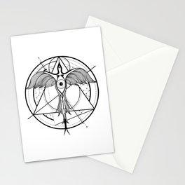 Phoenix ascending Stationery Cards