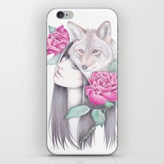 Wild Roses iPhone & iPod Skin