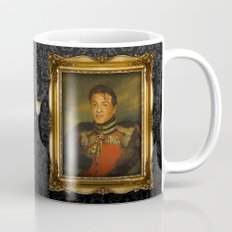 Sylvester Stallone - replaceface Coffee Mug