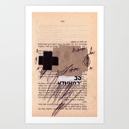 BOOKMARKS SERIES pg 374 Art Print