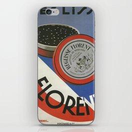 Vintage poster - Reglisse Florent iPhone Skin