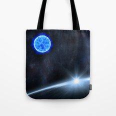 Blue Space Tote Bag