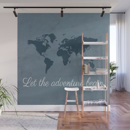 Let the adventure begin Wall Mural