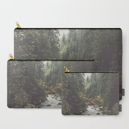 Mountain creek - Landscape and Nature Photography Carry-All Pouch