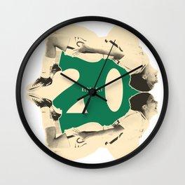 Sam 'Kerr-fect' Kerr Wall Clock