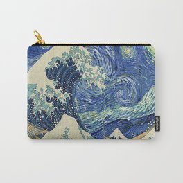 Starry Night Wave Carry-All Pouch