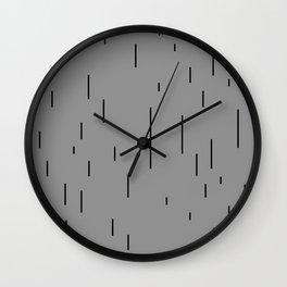 MINIMAL MAGRITTE (GOLCONDA) Wall Clock