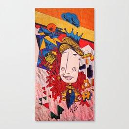 Reina Mala Limón Canvas Print