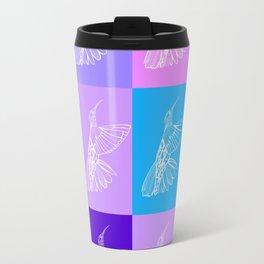 purple hummingbirds Travel Mug