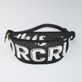 This Is A Horcrux Fanny Pack