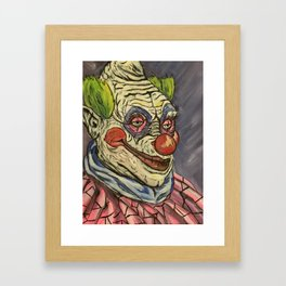 Killer Klown Framed Art Print