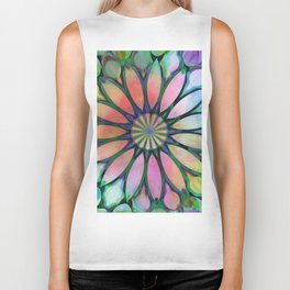 Tropical Flower Dream Biker Tank