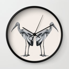 Handbirds Wall Clock