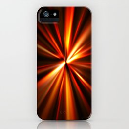 explosion of a star iPhone Case