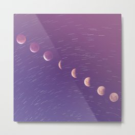 a red moon Metal Print