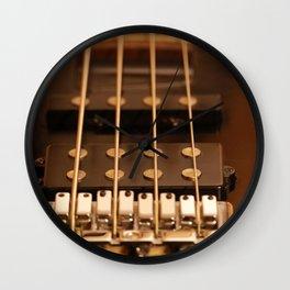 Four Strings Wall Clock