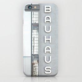 Bauhaus Building in Dessau iPhone Case