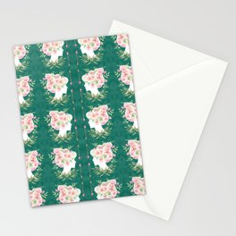 Abstract Roses Fairy Stationery Cards
