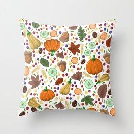 Thanksgiving #6 Throw Pillow